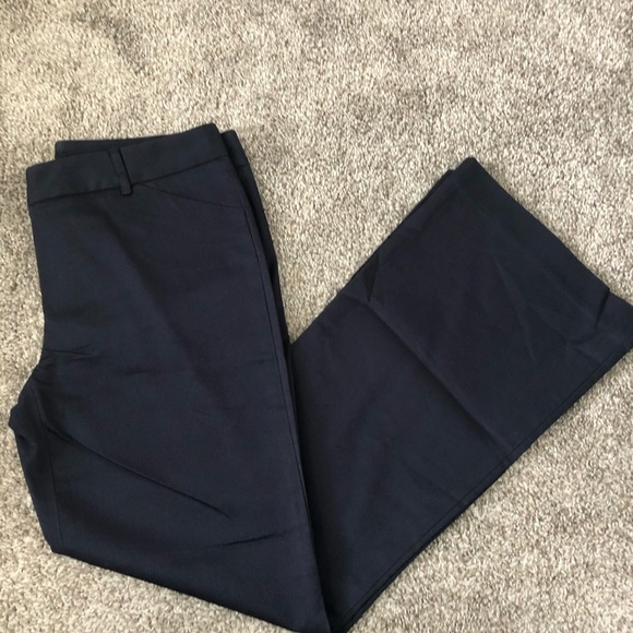 Moda International Pants - Vintage Navy Blue Moda International Work Trouser
